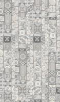 Vorschau: Vinyl Trendtime 5.30 Ornamentic Grey Mineralstruktur gefast